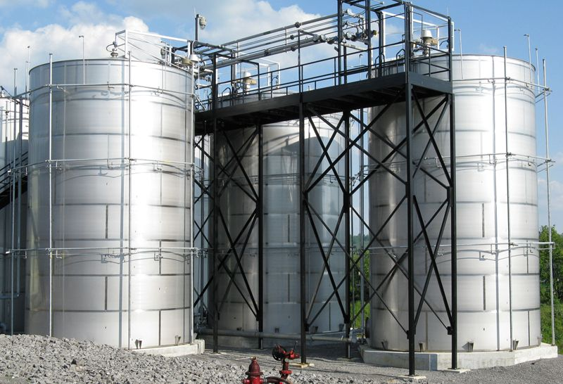 Stainless Steel Storage Tank, Arslan Enginery